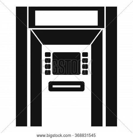 Atm Payment Icon. Simple Illustration Of Atm Payment Vector Icon For Web Design Isolated On White Ba