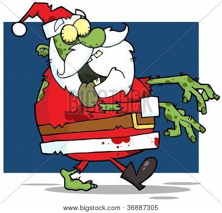 Santa Claus Zombie