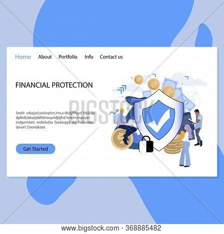 Financial Protection Bureau Landing Page. Business Guarantee