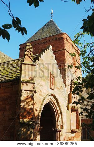 Whitekirk Church Entrance And Tower