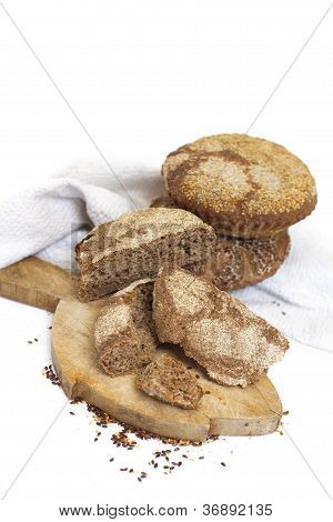 Hand made rustic bread