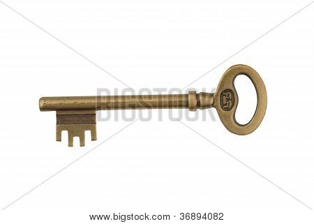 Skeleton Key isolated on white