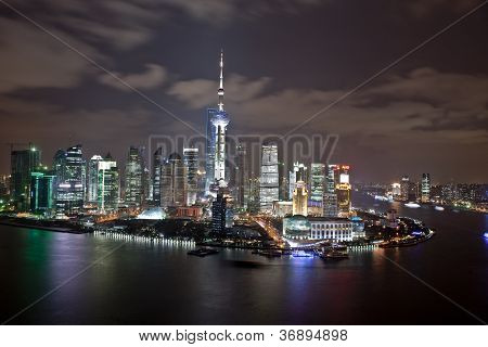 Pu Dong from the bund