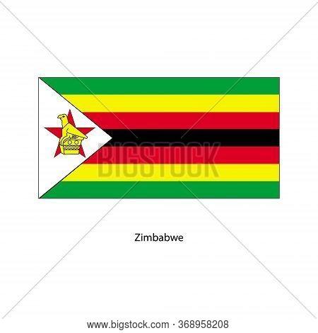 Vector Zimbabwe Flag, Zimbabwe Flag Illustration, Zimbabwe Flag Picture