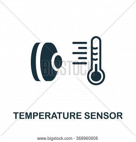 Temperature Sensor Icon. Simple Element From Sensors Icons Collection. Creative Temperature Sensor I