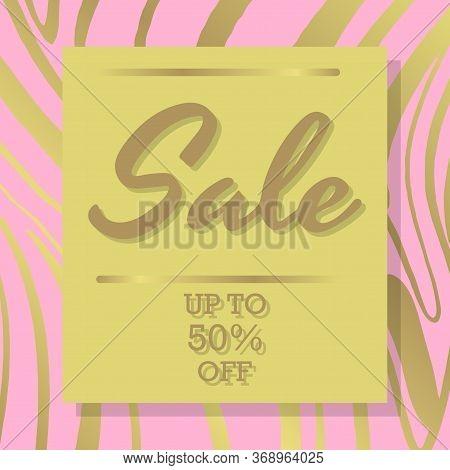 Sale Square Banner. Black Friday Design Template. Summer Sale Sticker. Sale Banner Template Design,