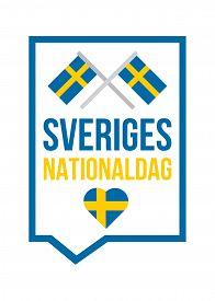 Sweden National Day Flyer Annual Celebration Event