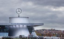 STUTTGART, GERMANY - October 10, 2014: The Museum Mercedes-Benz Welt in Stuttgart.