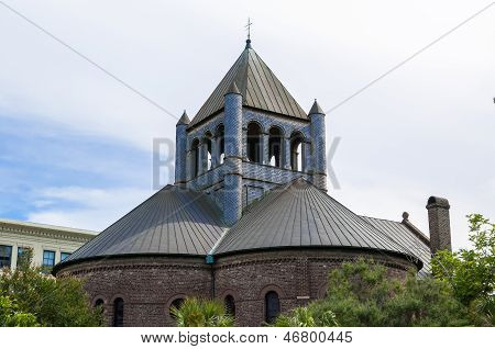 Circular Church In Charleston