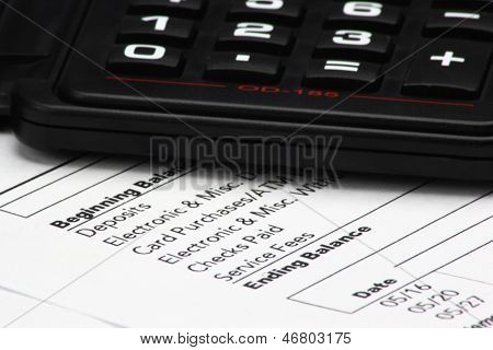 Calculator On Bank Statement