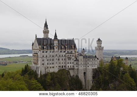 schloss neuschwanstein, the Chitty Chitty Bang Bang castle in Bavaria germany