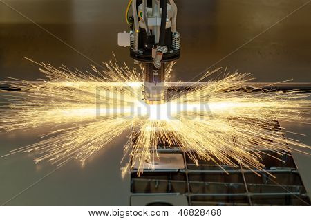 Plasma Cutting Metalwork Industry Machine