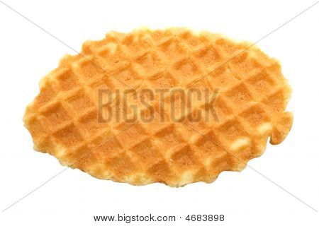 Waffle Isolated