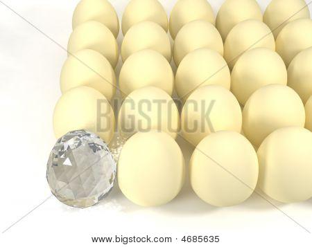 Egg And Diamond