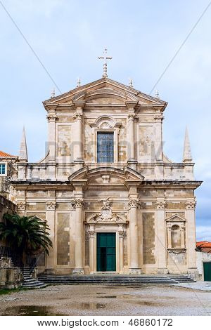 Saint Ignatius Church in Dubrovnik