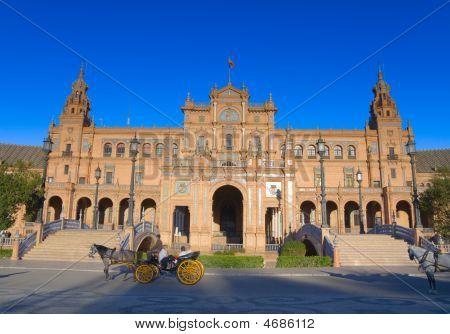 The Plaza De Espana, Seville