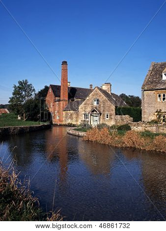 Watermill, Lower Slaughter, England.