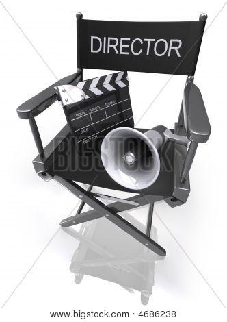 Director's Chair / Megaphone / Clapboard
