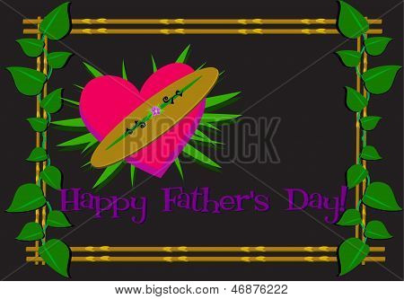 Happy Father's Day Framed Greeting