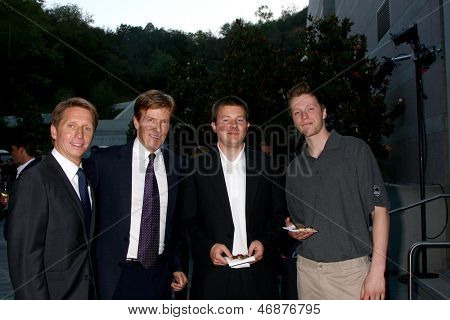 LOS ANGELES - JUN 15:  Brad Bell, Jack Wagner, Peter Wagner, Harrison Wagner attend The LLS 2013 Gala at the Skirball Center on June 15, 2013 in Los Angeles, CA