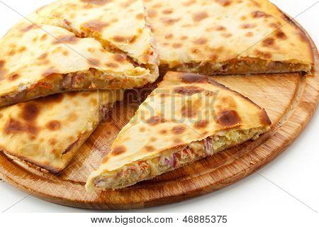 Pizza Calzone with Tuna