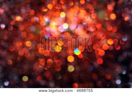 abstract defocused holiday multicolored lighitng background patterns poster