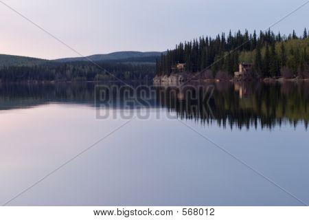 Peaceful Late Time At Lake