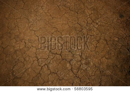 Background Old Earth, Cracked Texture