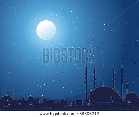 Starlit Mosque