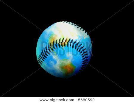 Earth Of Leather Baseball