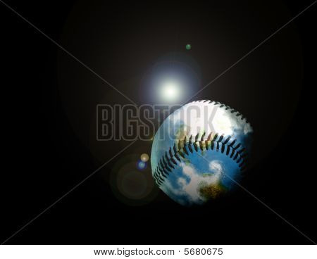 This Baseball Hit Even Flies Outer Space!!!