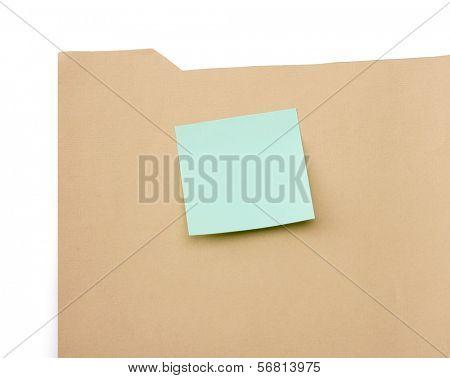 File folder , isolated on white background