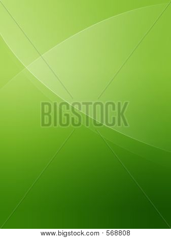 simple green background poster