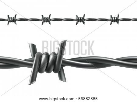 Barbed wire seamless, bitmap copy