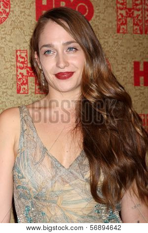 vLOS ANGELES - JAN 12:  Jemima Kirke at the HBO 2014 Golden Globe Party  at Beverly Hilton Hotel on January 12, 2014 in Beverly Hills, CA