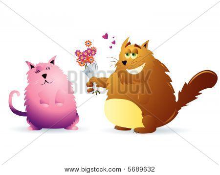 Cat Couple