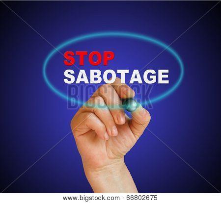 Stop Sabotage
