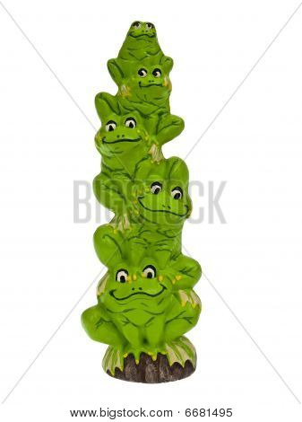 Stack of frogs