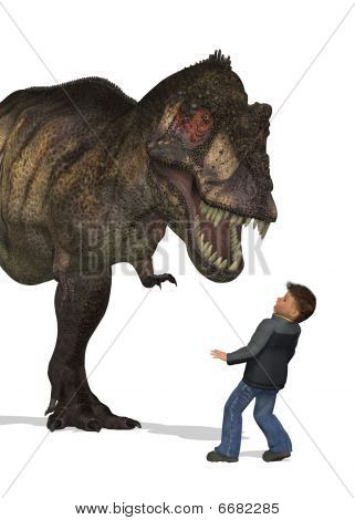 Boy Meets Dinosaur