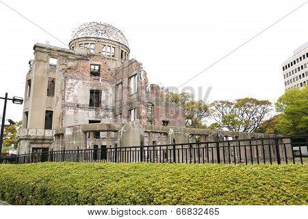 The Atomic Bomb (a-bomb) Dome, Hiroshima, Japan