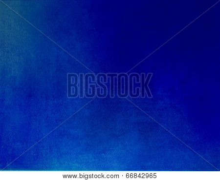 Abstract Blue Background Of Elegant Dark Blue Vintage Grunge Background Texture Black On Border With