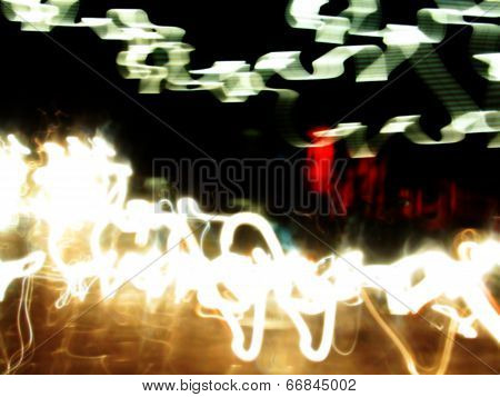 Dynamic Abstract Colorful and Vivid Blurry Background poster