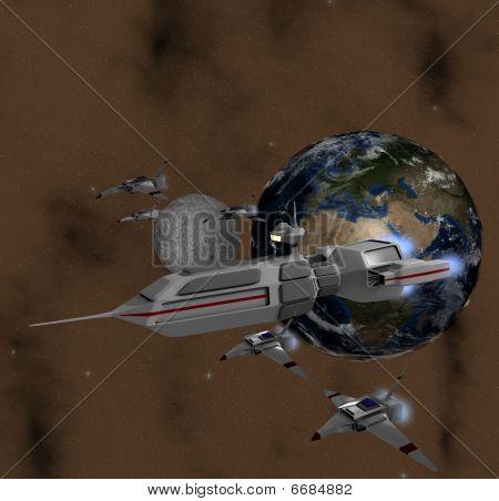 Earth patrol