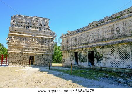 Ruins In Chichen Itza