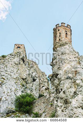 Maiden Tower Of Devin Castle, Slovak Republic