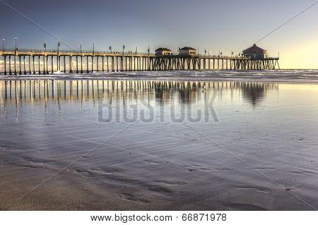Huntington Beach Pier Hdr