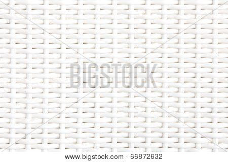 Close up white bamboo mat as striped background texture pattern  Oriental