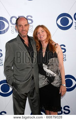 LOS ANGELES - MAY 19:  Miguel Ferrer at the CBS Summer Soiree at the London Hotel on May 19, 2014 in West Hollywood, CA