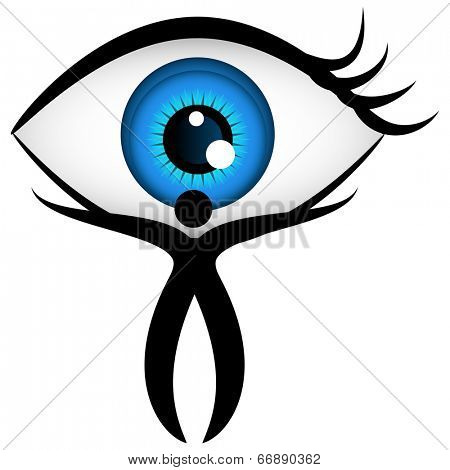 An image of an eyecare icon.