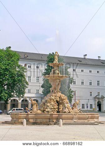 Fountain in Salzburg
